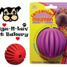 "Tanzanian Mountain Ball REGULAR 3"" Dog Chew Toy Treat"