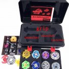 4D beyblade set s BB52 Top Metal Fight spare parts 8 beyblades 1 grip+3