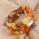 Woman Boho Multilayer Beads Charm Bracelets