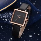 Square Women Bracelet Watch Contracted Leather