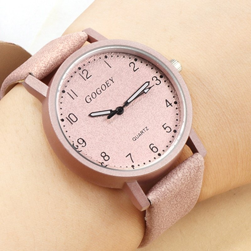 New Leather Strap Fashion Wrist Watch