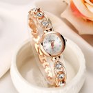 Lvpai Style Women Bracelet Gold Stainless Steel Watches