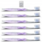 SoFresh Toothbrush, 6-Pack Purple, Adult Soft