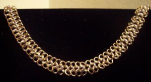 4 in 1 Chain Maille Necklace.