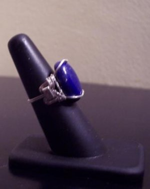 Sterling Silver Cabochon Ring (Ladies)