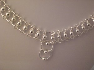 Chainmaille Ladder Necklace