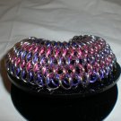 Dragon Scale Chainmaille Bracelet. GORGEGOUS