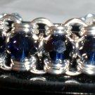 Beautiful Blue Channel Bracelet