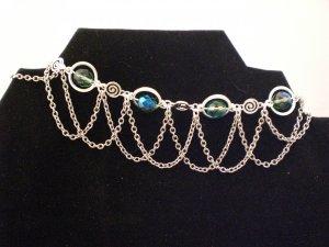 Beautiful Czech Glass Ankle Bracelet