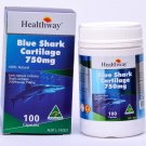 New Healthway Blue Shark Cartilage 750mg 365 capsules - Made in Australia