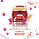 12X Little Baby Acerola Cherry Scrub Gel 200g. Whitening Brightening Dark Spot