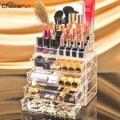 CHOICEFUN Home 4 Drawer Big Clear Lipstick Storage Box Acrilic Transparent