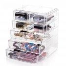 5 Drawers Storage Box Acrylic Organizer Multifunction Bathroom DIY Large Quality