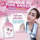 3X New Lotion Whitening Angel Pink Angel By Fefee Net 250 ml. White For Skin
