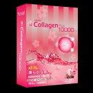 Amsel Premium Collagen Plus Strawberry 10 Sachets 10000 mg Dietary Supplement