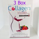 3X Donut Collagen 10000 mg Flavor Mixed Berry Beauty from Japan 10 Sachets