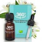 360 Natural Whitening Toner Serum Reduce Dark Spots and Malasma Freckles New