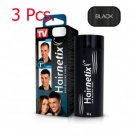 3X Hairnetix Fiber powder 32g (Black) Changed into Some Thick Hair Natural Look