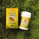 Ausway Propolis 1000mg Honeycomb Supplements 100 Capsules King Royal Reduse Acne