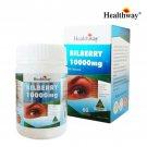 Healthway BILBERRY 10000 mg. 60 Capsules Eye Care Health 1 Box