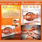 3X Colly SOP 500+++ Salmon Collagen Peptide & L-Gluthathione Whitening Nrw