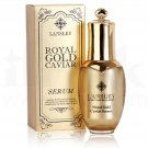 Lansley Royal Gold Caviar Premium Serum Anti-Aging, Anti-Wrinkle Soft Firm 1 Oz.