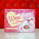 Wow Collagen L-Gluta 15000 mg. Whitening Anti Aging New innovation.30 sachets