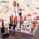 Bathroom Beauty Clear Acrylic Makeup Nail Polish lipstick Organizer CHOICE FUN
