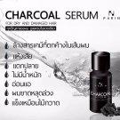 Parin Charcoal Hair Serum Treatment Reduce Hair Loss Dry & Damage Hair 15ml.