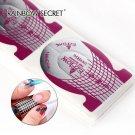 100pcs/pack Nail Form Self Adhesive Gel For Nail Extension UV Gel Nail Art