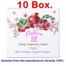 x10 Eighteen 18 Skin Vitamin Vegetable Collagen Supplements vitamins healthy.