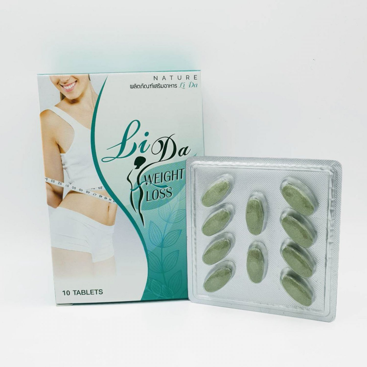 Lida Nature Help Lose Weight With firming Products For Health 10 Capsules