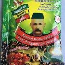 60 Sachets AL AMBIAK TONGKAT ALI SUPER STRONG NATURAL HERBS STRONGMAN COFFEE 100% ORIGINAL