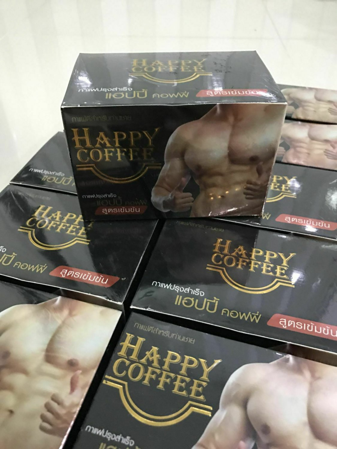 6X Happy Coffee Instant Coffee Concentrated Formula Weight Loss For Health Pro