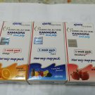 3 Set New jelly Fruit Strawberry Orange 1 week pack 100 mg 3 flavours DHL Express