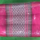 Thai Khit Pillows Handmade Cotton Northeastern Embroidered Healthy& Comfortable Red