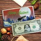 Santa Claus Dollar Bill. Real USD. Bankable & Spendable
