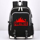 Fortnite Kids Canvas Backpack Game School Bag Black