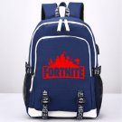 Fortnite Kids Canvas Backpack Game School Bag Blue