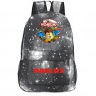 New Roblox Canvas Backpack Galaxy for Kids Oxford Canvas School Backpack Gray