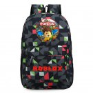 Roblox Backpacks Anime School Backpacks for Kids Gray Geometric
