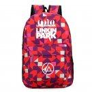 Linkin Park  Backpack Geometric Kids Oxford Canvas School Backpacks Pink