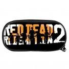 Red Dead Redemption 2 Pen Bags for Kids Students Black