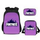 Fortnite School Backpack Should Bag Pencil Bag Students iPad Bags Purple