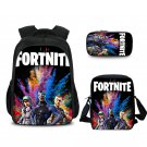Fortnite Students Teenage Backpack Should Bag Pencil Case Rainbow Team Best Gift