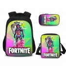 Fortnite Soldiers Backpack Should Bag Pencil Bag for Girls Rainbow