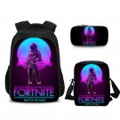 3 Sets Fortnite Students Backpack Should Bag Pencil Bag Angel Soldier
