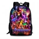2019 Marvel Avengers Endgame Superheros Students Backpack Canvas School Bags