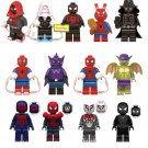 Spiderman into the Spider Verse Minifigures Marvel Spiderman Minifigures Cool Gift Idea