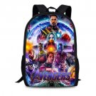 Marvel Avengers Endgame Captain Marvel Print School Backpack Marvel Kids Backpacks
